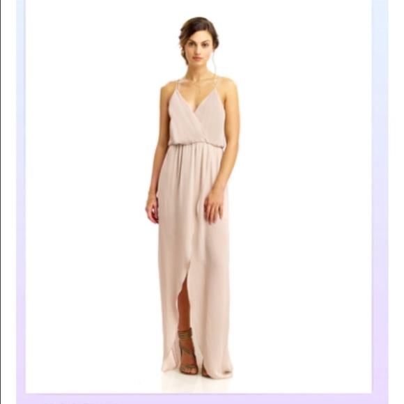 f8fa42b5ac Blush Rory Beca Jones Fishtail Bridesmaid Dress. M 55f761a4d14d7bc45201bfdc
