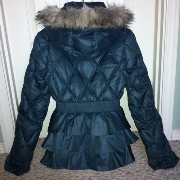 2788075dd21 Juicy Couture Jackets   Blazers - Juicy Couture Winter Puffer Coat - Ruffle  Jacket