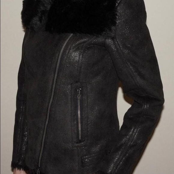 741a385070 NWOT Armani Exchange A|X Faux Shearling Jacket