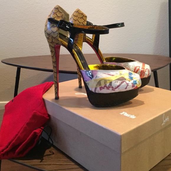 7ec7cf99371b Christian Louboutin Shoes - Christian Louboutin Trash Collection