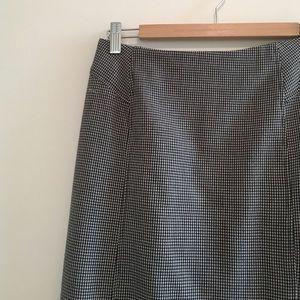 Vintage High Waist Midi Skirt 
