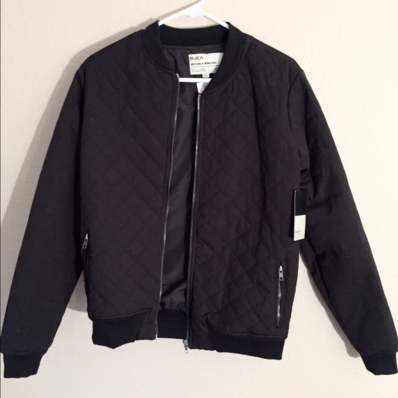 81d3b98451f RVCA Mason Quilted Jacket NWT