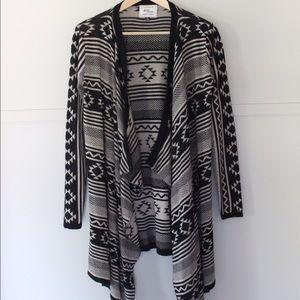 Knit Wear Patterned Sweater