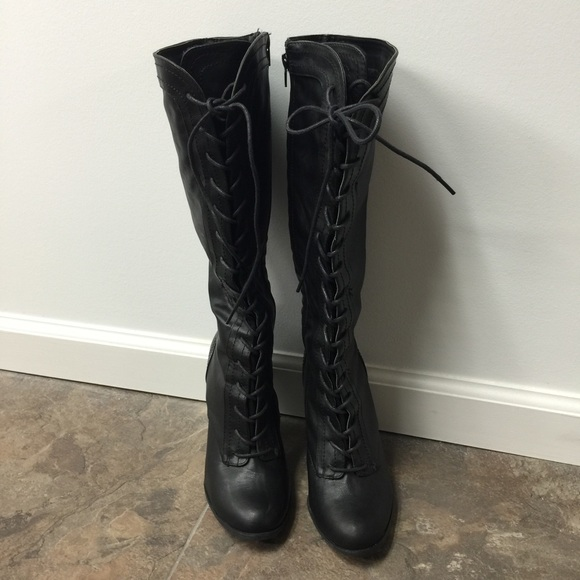 bamboo bamboo knee high boots from s closet on