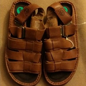 Timberland Other - Brown Leather Timberland Men Sandals