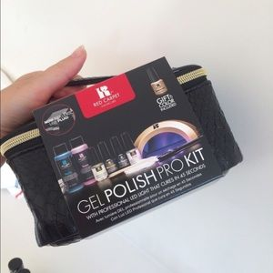 Red carpet manicure Accessories - Kit and four gel colors