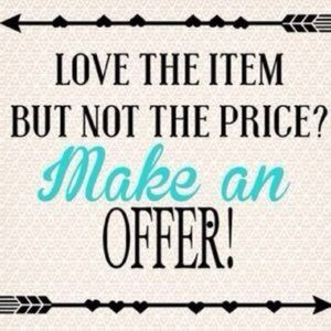 Other - Make me an offer!!