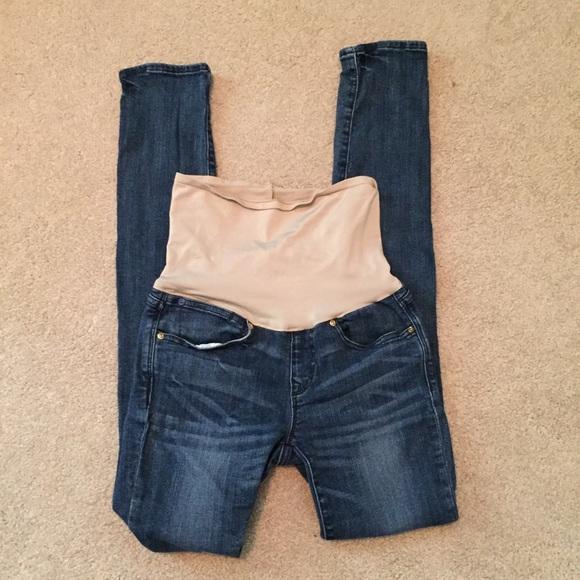 75% off GAP Denim - Gap Always Skinny Maternity Jeans Size 26 *2 ...