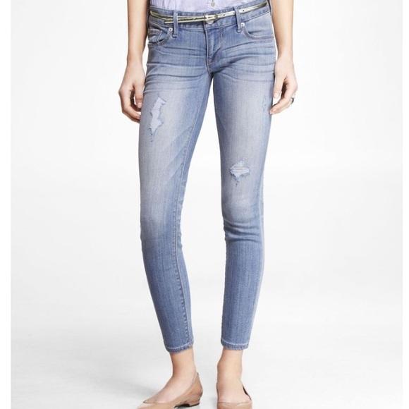 75% off Express Denim - ✨2/$40!✨Express Stella Ankle Jean ...