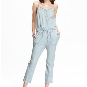 Old Navy Pants - Old Navy chambray jumpsuit