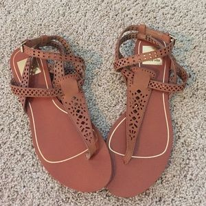 Dolce Vita leather sandal