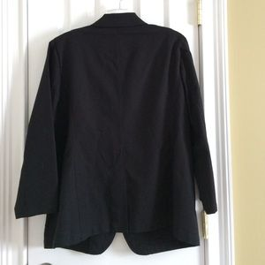 Ralph Lauren Jackets & Coats - Like New Black Lauren Blazer with Black Crest