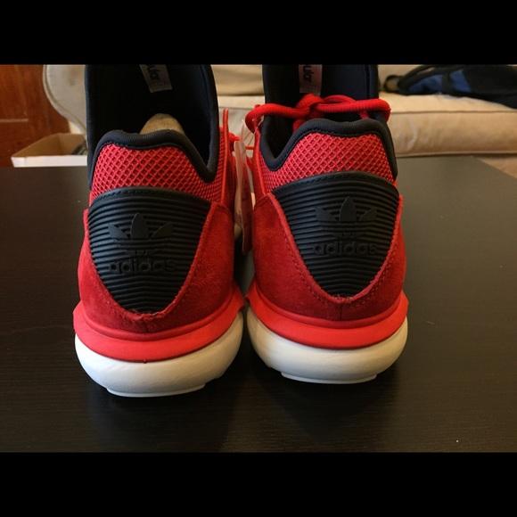 Adidas Tubolare Radiale Bianca E Rossa 218bWb52M