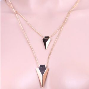 Jewelry - Gold filled charm necklace