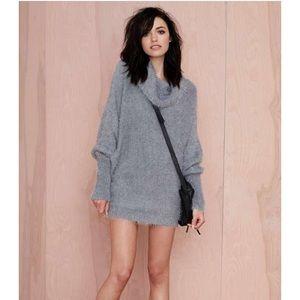 343ebf2fa33 Nasty Gal Sweaters - Nasty Gal Oversized Turtleneck Sweater Dress