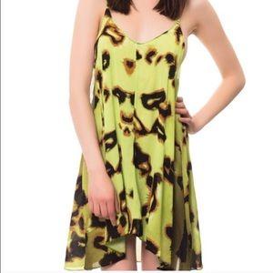 One teaspoon animal blood dress green M