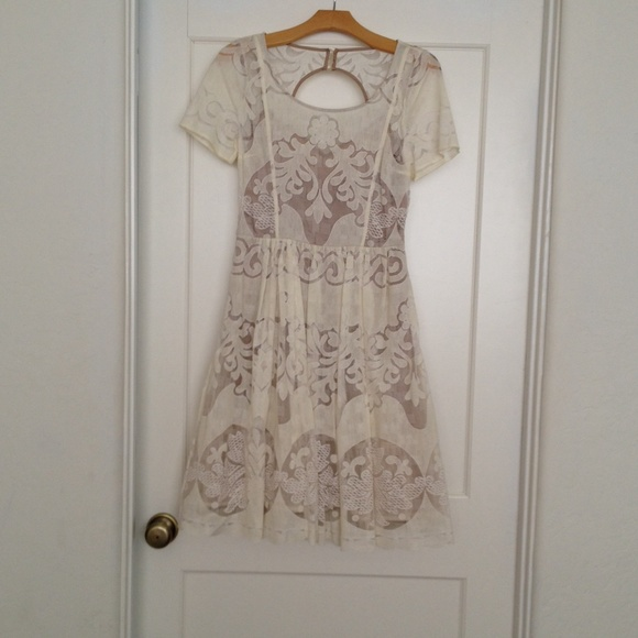 3cb76ac1b4ca Anthropologie Dresses & Skirts - Anthropologie Tracy Reese Ivoire dress