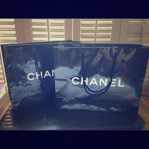Authentic Chanel Shopping Bags!