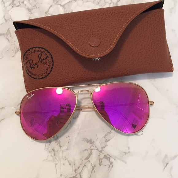 ray ban aviator polarized pink lens - Holly\'s Restaurant and Pub