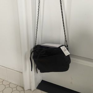 Zara leather hanbag NWT