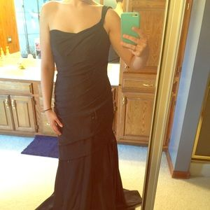 Black Mackenzie Michael's Gown