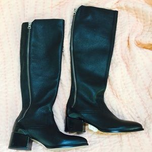 Anthropologie sixty seven 67 black boots 37