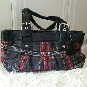 Coach Tartan Handbag