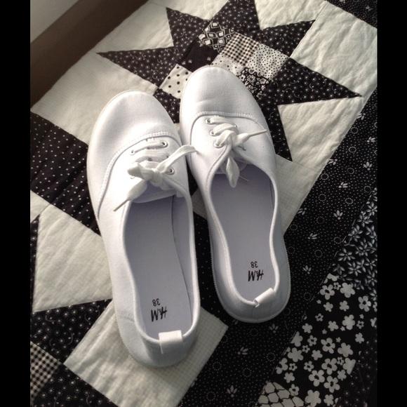 100 h m shoes fabulous h m white canvas shoes