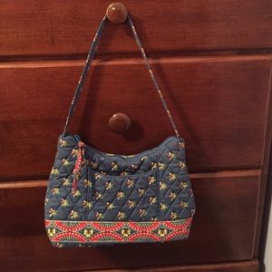 Small shoulder Vera Bradley quilted purse