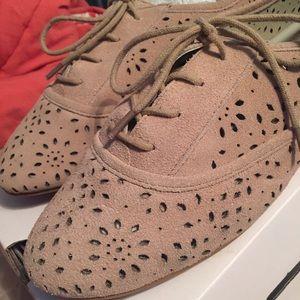 BRAND NEW ALDO suede shoes