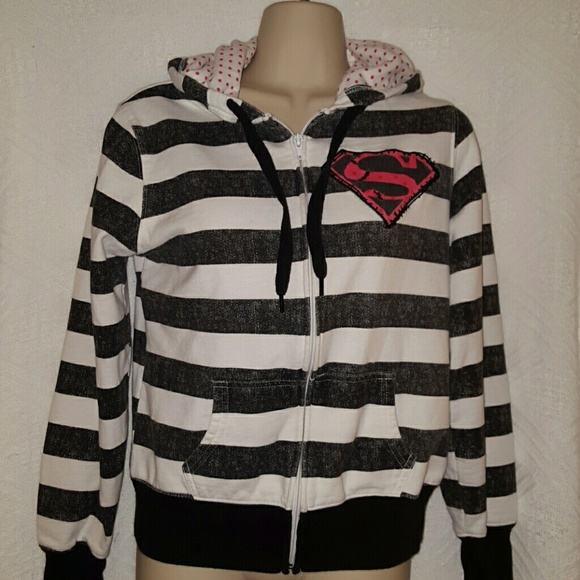 72% off DC comics Jackets & Blazers - Girls Superman DC Comics ...