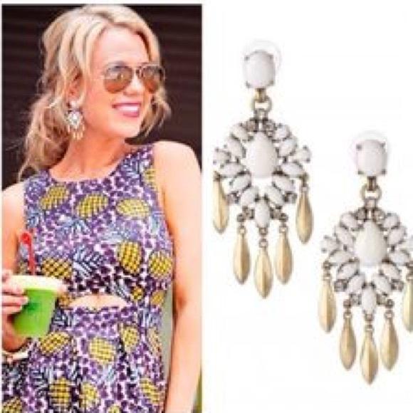 Stella Dot Mallorca Chandelier Earrings