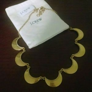 J. Crew Scalloped Necklace