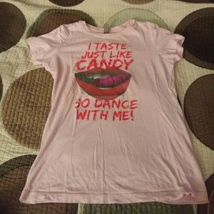 Tops - I taste just like candy t-shirt