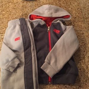Nike Other - Toddler boy Nike sweat suit