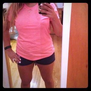 Tops - Hot pink danskin work out shirt