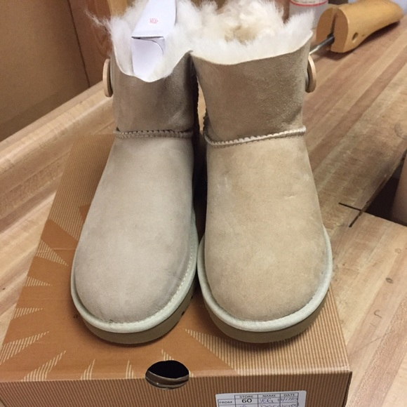 Mini Bailey Sand Uggs!