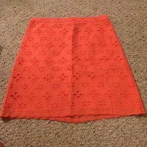 NWOT Coral knee length skirt
