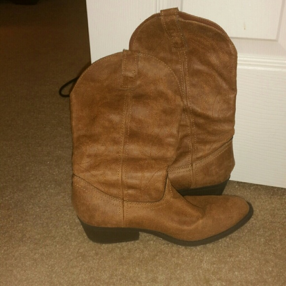 Rampage Shoes Cowgirl Boots From Belk Poshmark