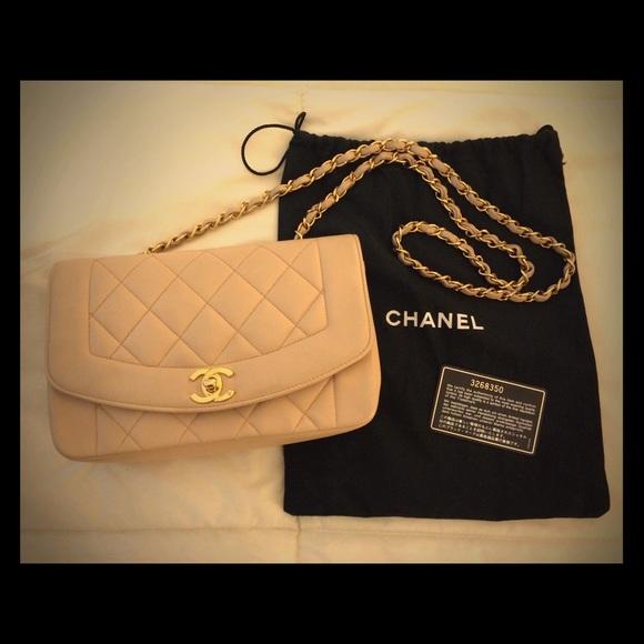 "6b702c7e7285 CHANEL Handbags - Vintage Chanel ""Diana"" Flap Bag"