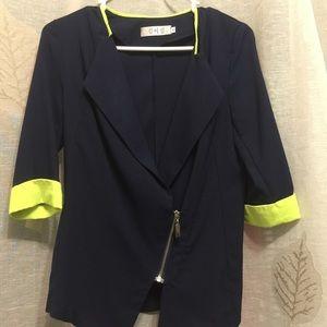 3/4 sleeves light blazer XS