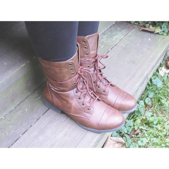 Brown Brash Payless Shortcombat Boots