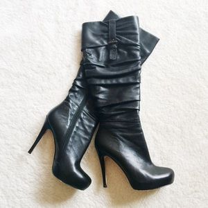 Charles David Shoes - Black Boots (PRICE FIRM)