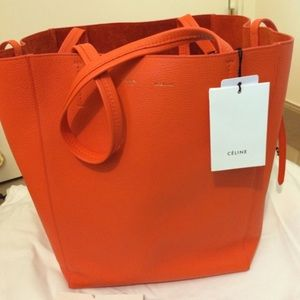 6% off Celine Handbags - BRAND NEW Celine Medium Cabas Phantom ...
