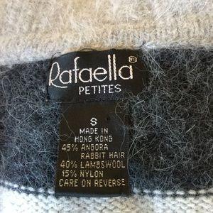Rafaella Sweaters - 💕 Angora & Lambswool Striped Turtleneck Sweater💕