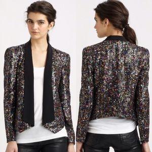 Rebecca Minkoff Jackets & Blazers - Rebecca Minkoff Becky Sequin Jacket sz S