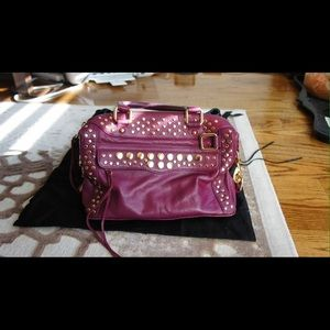 Rebecca Minkoff Raspberry Boston bag