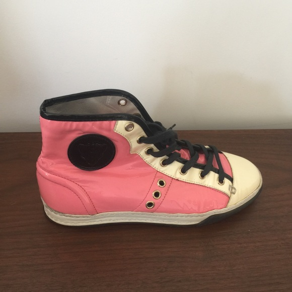 Gucci Shoes | Pink Sneakers Size 7 | Poshmark