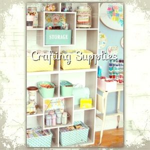 Crafting Supplies Sections