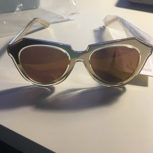 Karen Walker Number One in Gold Mirrored